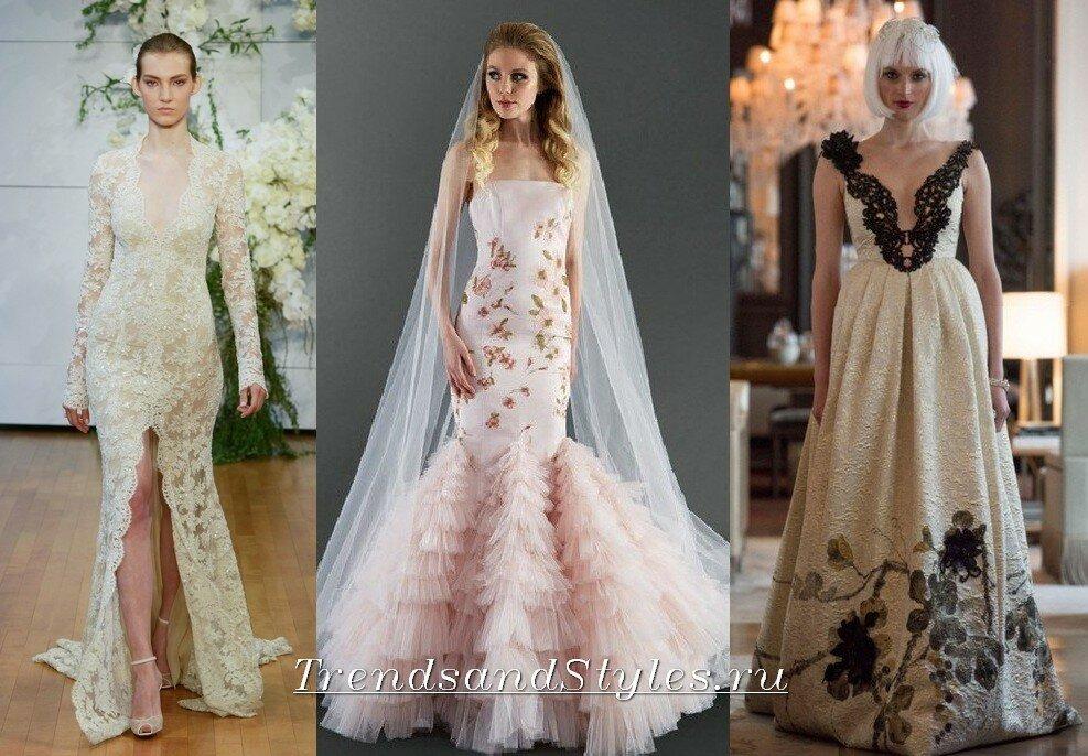 свадебные платья 2018 мода. тенденции. фото