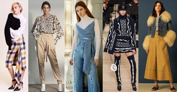 модные тенденции осень зима 2017 2018 одежда