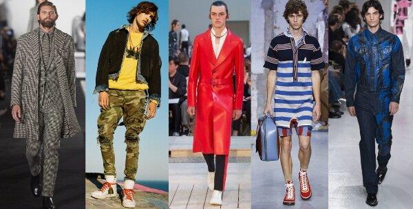 мужская мода 2018 весна-лето фото
