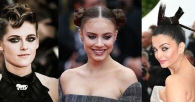 Канны 2018: лучшие женские причёски