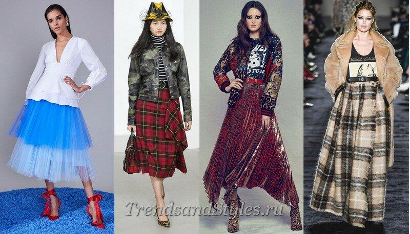 Модные луки осень-зима 2019-2020 фото изоражения