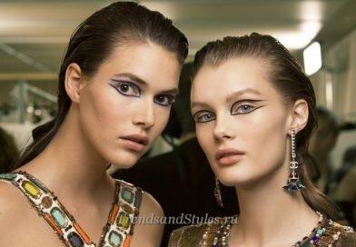 Модный макияж 2019-2020 со стрелками. Тенденции, фото-новинки