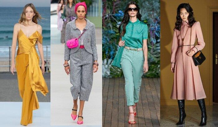 модные тенденции весна-лето 2020 фото новинки тренды
