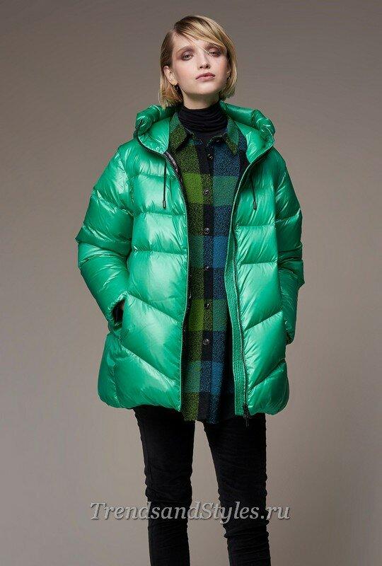 модные зимние куртки 2020 женские фото