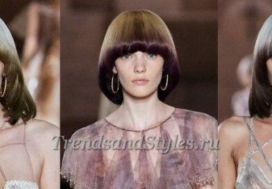Модный цвет волос осень-зима 2019-2020: бум оттенков от Fendi