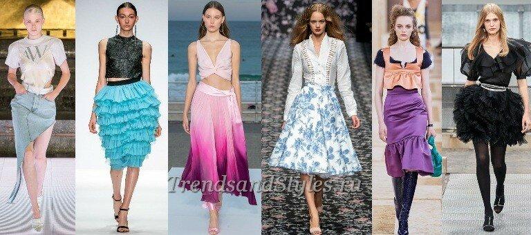 Модные юбки весна-лето 2020-2021