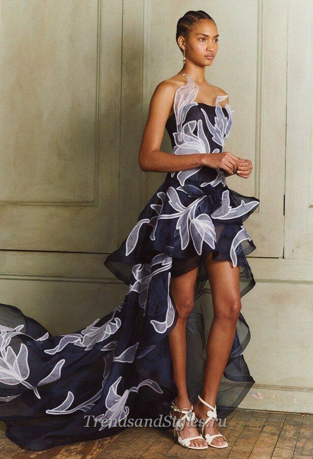 модные вечерние платья осень-зима 2020-2021 фото