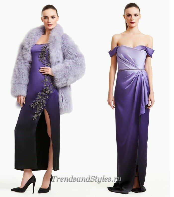 модные вечерние платья бюстье осень-зима 2020-2021 тренды