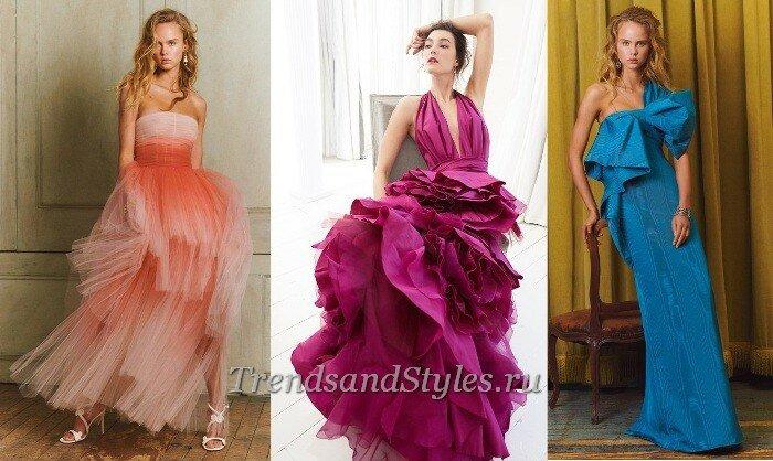 Модные вечерние платья осень-зима 2020-2021: тренды