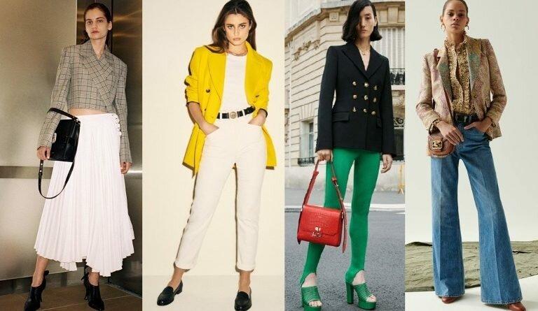 Модный женский пиджак 2020.  Тренды. Фото-новинки