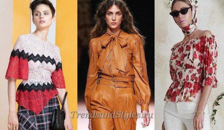Модные женские блузки 2020: тренды. Фото-новинки