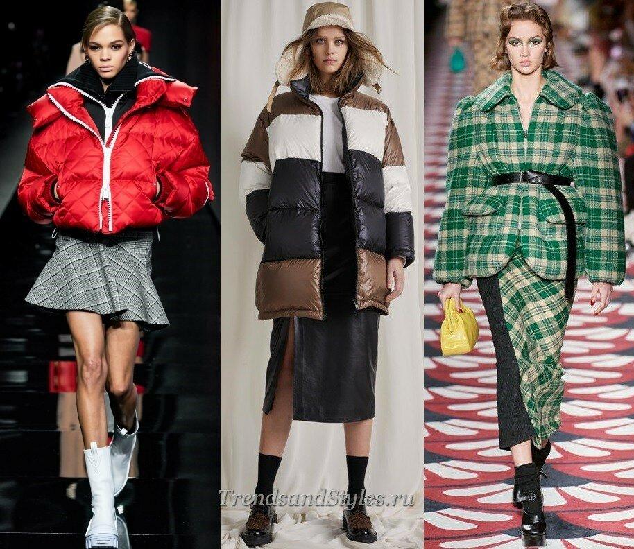 модные куртки осень-зима 2020-2021 тренды