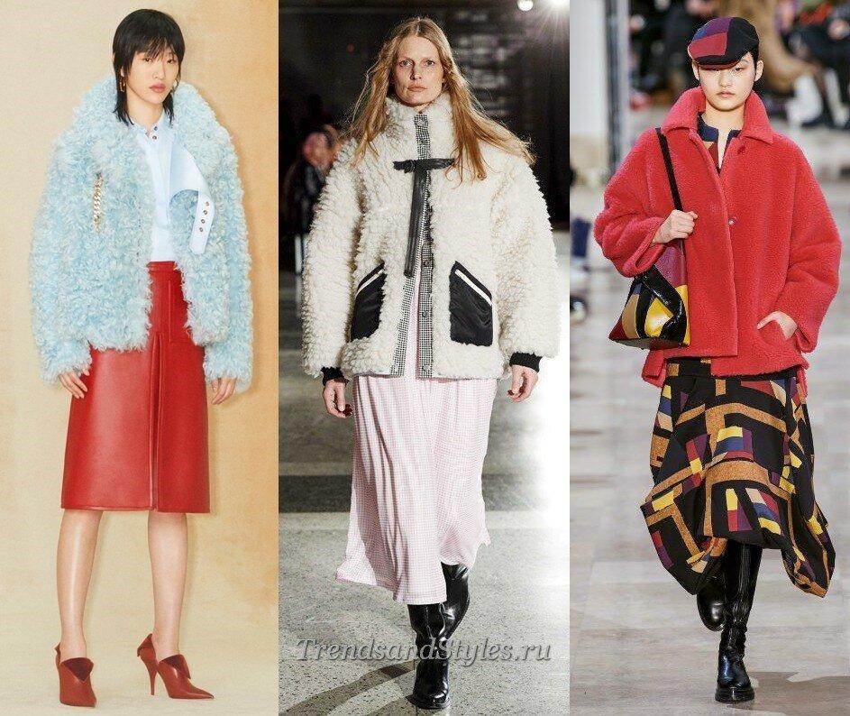 модные тенденции осен-зима 2020-2021 куртки