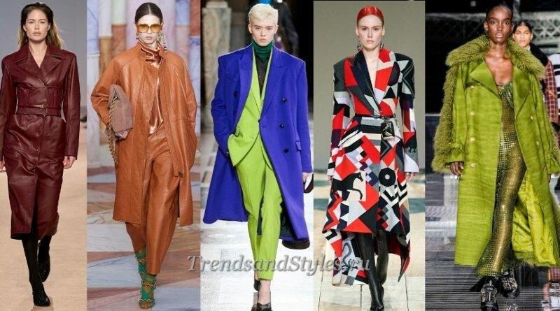 мондное пальто осень-зима 2020-2021 женское