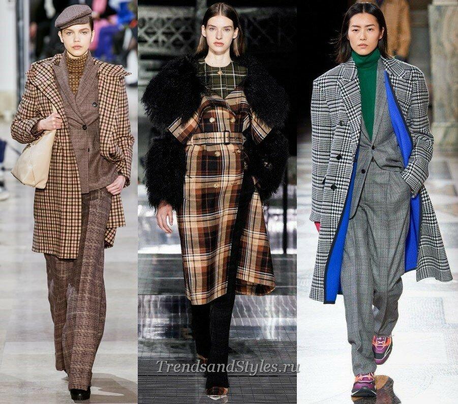 модные тренды осень-зима 2020-2021 пальто фото