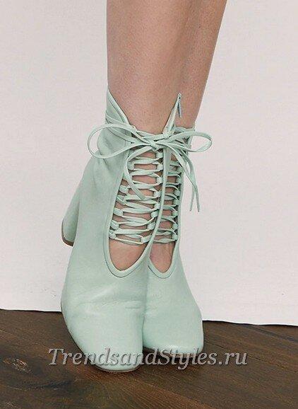 модная женская обувь осень-зима 2020-2021 фото тренды