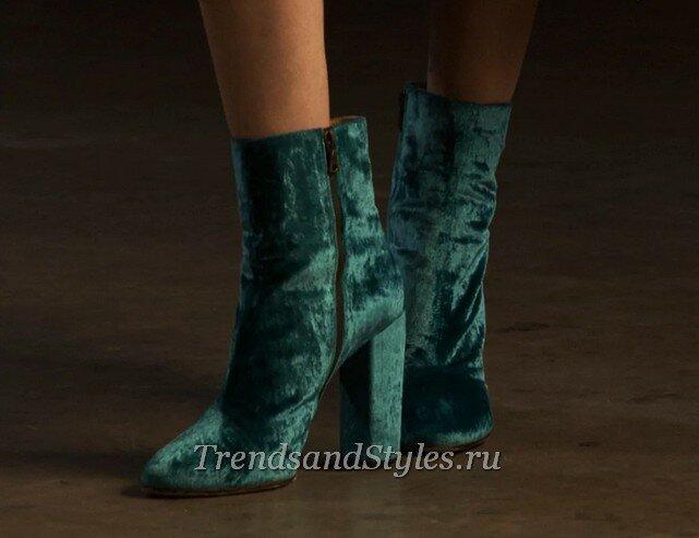 модная женская обувь осень-зима 2020-2021