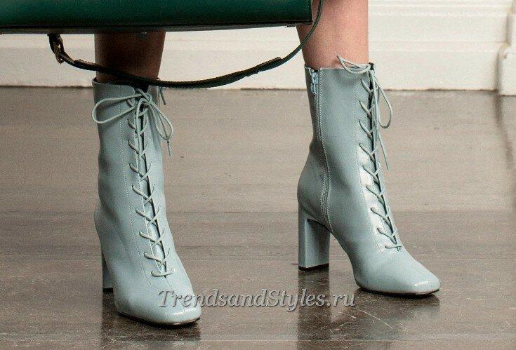 модная женская обувь осень-зима 2020-2021 тренды