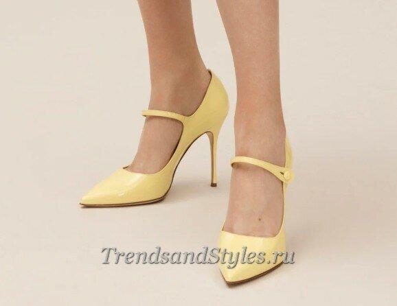 модная женская обувь осень-зима 2020-2021 фото