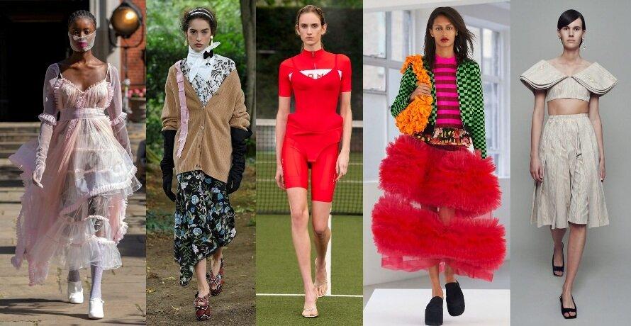 Мода весна-лето 2021: ТОП-11 трендов из лондонской недели