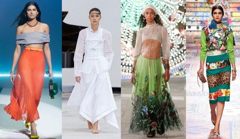 Модные юбки весна-лето 2021. Основные тренды