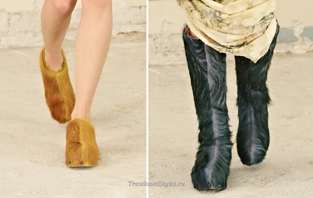 обувь осень-зима 2021-2022 ;женская