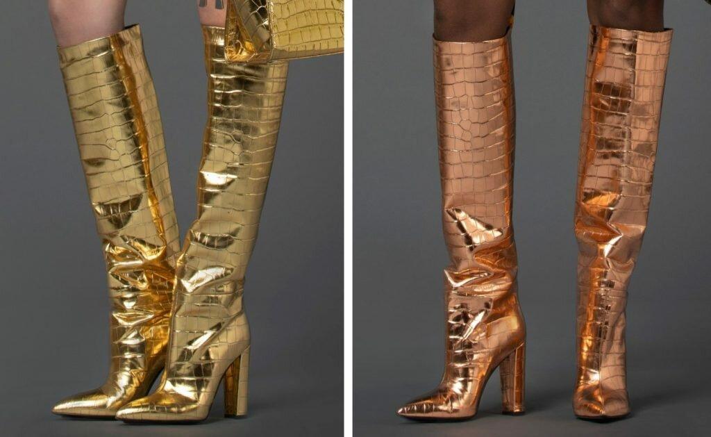 Модная обувь осень-зима 2021-2022. Тренды  сапоги