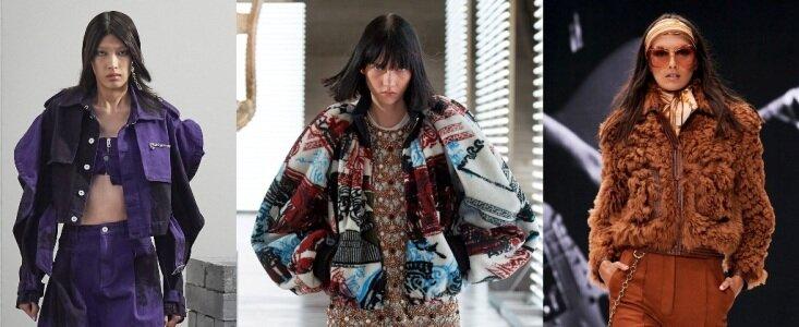 модные куртки осень-зима 2021-2022 женские
